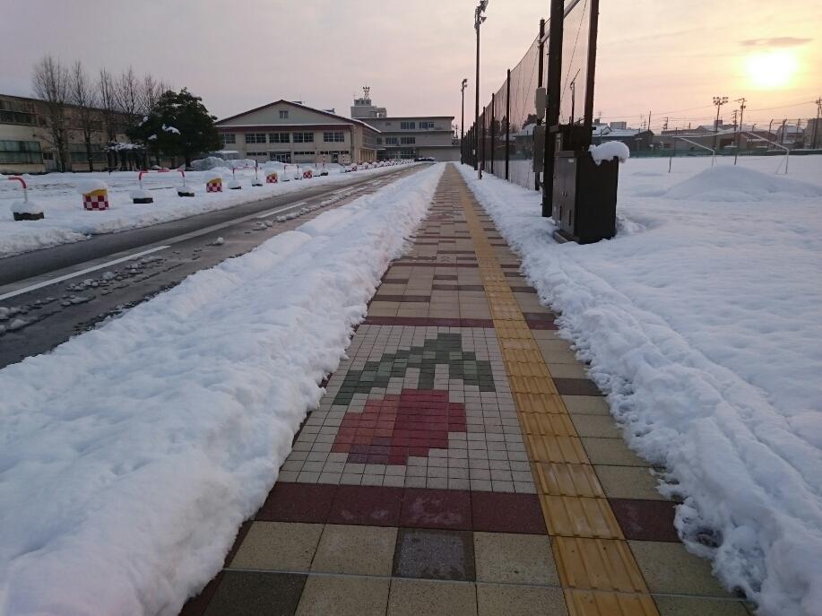 市道表町10号線の無散水消雪